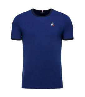 Camiseta para hombre Le Coq Sportif Essentiels bicolore de color azul marino al mejor precio en tu tienda de deportes online chemasport.es
