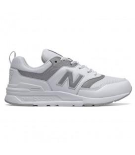 Deportivas para mujer y niños New Balance 997 W de color blanco al mejor precio en tu tienda de moda online chemasport.es