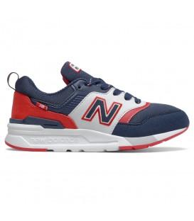Deportivas para mujer New Balance 997 W de color azul marino, rojo y blanco al mejor precio en tu tienda de deportes online chemasport.es