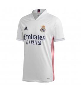 Camiseta Real Madrid de adidas primera equipación temporada 2020/2021 de color blanco al mejor precio en chemasport.es