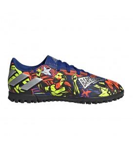 Zapatillas de fútbol sala adidas Nemeziz Messi 19.4 TF J estampado para niños al mejor precio en tu tienda de fútbol chemasport.es