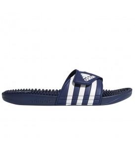 Chanclas de natación para hombre y mujer adidas adissage de color azul al mejor precio en tu tienda de natación online Chema Sport