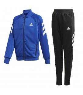 Chándal para niños adidas XFG de color azul para el colegio al mejor precio en tu tienda de deportes barata online en chemasport.es