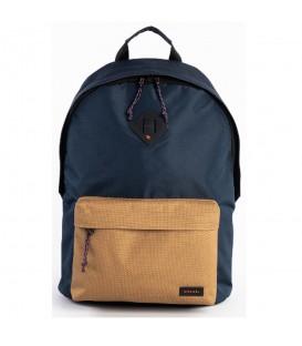 mochila de ripcurl dome en color azul marino ideal para la vualta al cole y resistente