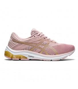 Compra las zapatillas asics gel flux 6 en color rosa en la tienda online chemasport.es