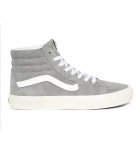 Zapatillas vans sk8-hi unisex en color gris al mejor precio en tu tienda online chemasport.es