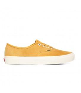 zapatillas vans ua authentic unisex en color moztaza al mejor precio disponible en tu tienda online chemasport.es