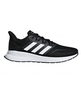 Disponibles las zapatillas para hombre adidas runfalcon en color negro en la tienda online chemasport.es al mejor precio