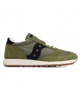 zapatillas saucony jazz original para hombre en color verde al mejor precio