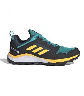 Compra las zapatillas adidas terrex agravic para hombre en color turquesa y amarillo en chemasport.es