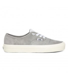 Disponibles las zapatillas vans ua authentic en color gris repelente al agua en chemasport.es