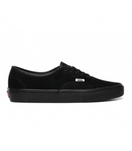 Las zapatillas vans ua authentic total black repelentes al agua en chemasport.es