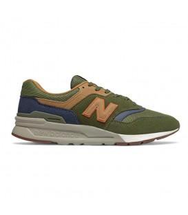 Disponibles las zapatillas new balance 997 para hombre en color verde en chemasport.es