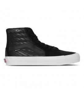 Disponibles las zapatillas vans ua sk8 hi con goretex en color negro en chemasport.es