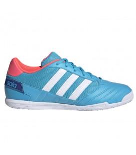 zapatillas de fútbol sala adidas super sala para hombre en color azul a un precio inmejorable
