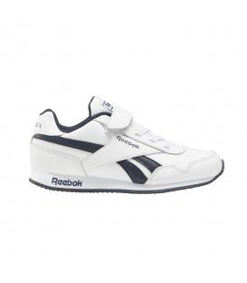 Las zapatillas reebok royal classic jogger 3 en color blanco para niños en chemasport.es
