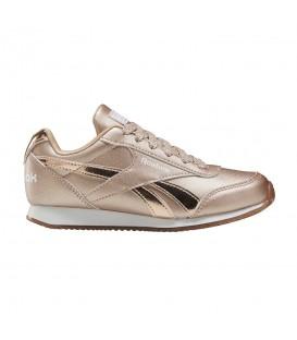 Las zapatillas reebok royal jogger 2.0 para niños en color dorado en la tienda online chemasport.es