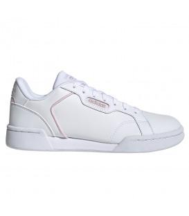 zapatillas adidas roguera en color blanco para mujer al mejor precio en tu tienda online chemasport.es