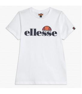 camiseta ellesse malia en color blanco para niños disponible en la tienda online chemasport.es