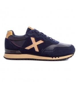 Zapatillas munich dash premium en color azul marino para hombre disponibles en la tienda online chemasport.es