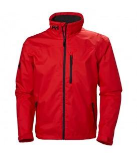 Cazadora helly hansen crew midlayer en color rojo para hombre en la tienda online chemasport.es