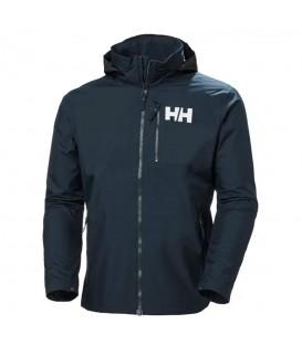 cazadora helly hansen active hooded midlayer para hombre en color azul marino en la tienda online chemasport.es