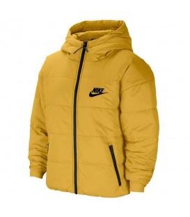 Cazadora nike sportwear core para mujer en color mostaza en la tienda online chemasport.es
