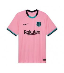 camiseta fcbarcelona tercera equipación para hombre en color rosa