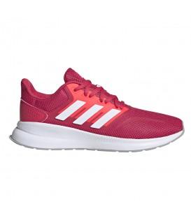 zapatillas adidas runfalcon en color rosa para mujer en la tienda online chemasport.es