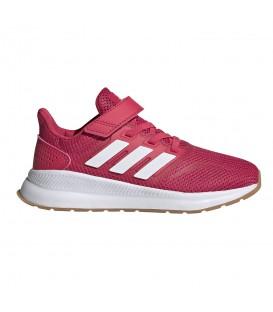 zapatillas adidas runfalcon c para niños en color rosa en la tienda online chemasport.es
