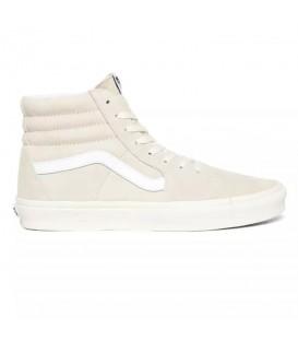 zapatillas vans ua sk8-hi confeccionadas en ante de color beis en la tienda online chemasport.es