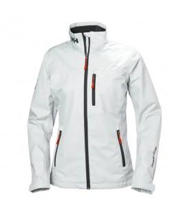 cazadora helly hansen crew midlayer w para mujer en color blanco en la tienda online chemasport.es