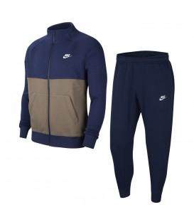 Chándal nike sportwear fleece en color azul marino para hombre en la tienda online chemasport.es
