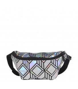 riñonera adidas waistbag 3d en color plata al mejor al mejor precio en tu tienda online chemasport.es