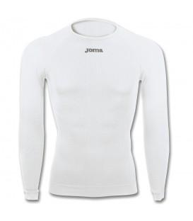 Camiseta joma brama classic bco de manga larga para hombre en color blanco en la tienda online chemasport.es