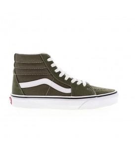 zapatillas vans ua sk8-hi en color verde unisex al mejor precio
