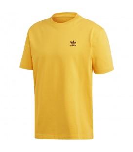 camiseta adidas trefoil para hombre en color naranja al mejor precio