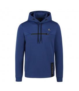 Sudadera le coq sportif tech hoody para hombre en color azul en la tienda online chemasport.es
