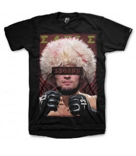 camiseta leg3nd unisex en color negro the eagle al mejor precio en tu tienda online chemasport.es