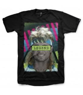 camiseta leg3nd agassi unisex en color negro al mejor precio en tu tienda online chemasport.es