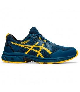 zapatillas asics gel-venture 8 para hombre en color azul disponibles en la tienda online chemasport.es