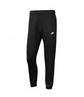 pantalón nike sportwear club fleece para hombre en color negro en la tienda online chemasport.es