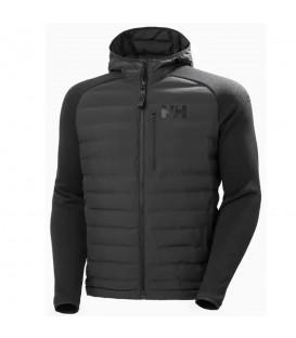 chaqueta artic ocean hybrid insulator de helly hansen para hombre en color negro en la tienda online chemasport.es