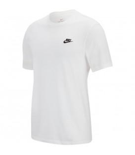 camiseta nike sportswear para hombre en color blanco al mejor precio en tu tienda online chemasport.es
