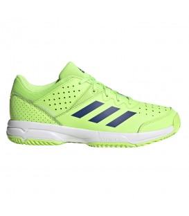 Zapatillas adidas court stabil jr para mujer y niños en color verde en la tienda online chemasport.es