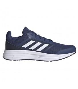 zapatillas adidas galaxy 5 para hombre en color azul marino en la tienda online chemasport.es