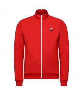Sudadera le coq sportif essentiels para hombre en color rojo en la tienda online chemasport.es