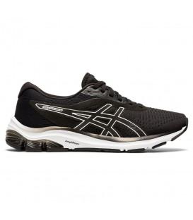 zapatillas gel pulse 12 para mujer en color negro al mejor precio en tu tienda online chemasport.es