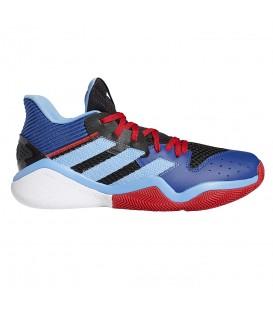 zapatillas adidas harden stepback de baloncesto para hombre en color azul en la tienda online chemasport.es