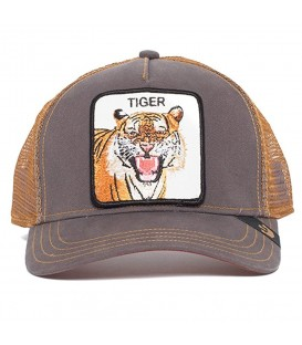 gorra goorin bros eye of the tiger en color marrón disponible en la tienda online chemasport.es